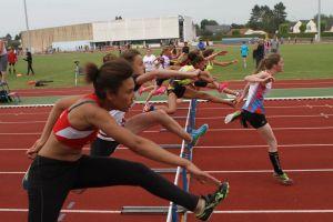 Aurélie en finale du 50m haies