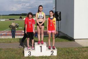 Lucie médaille de bronze à la marche