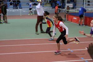 Agathe au départ du 50m