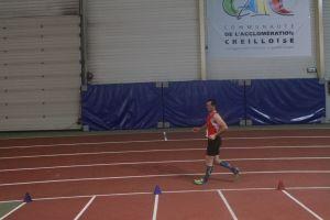 Jean-Pierre sur 5000m marche