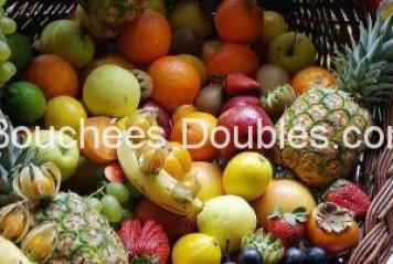 Fruits - tamponeurs d'acides -alcalinisants pour notre métabolisme