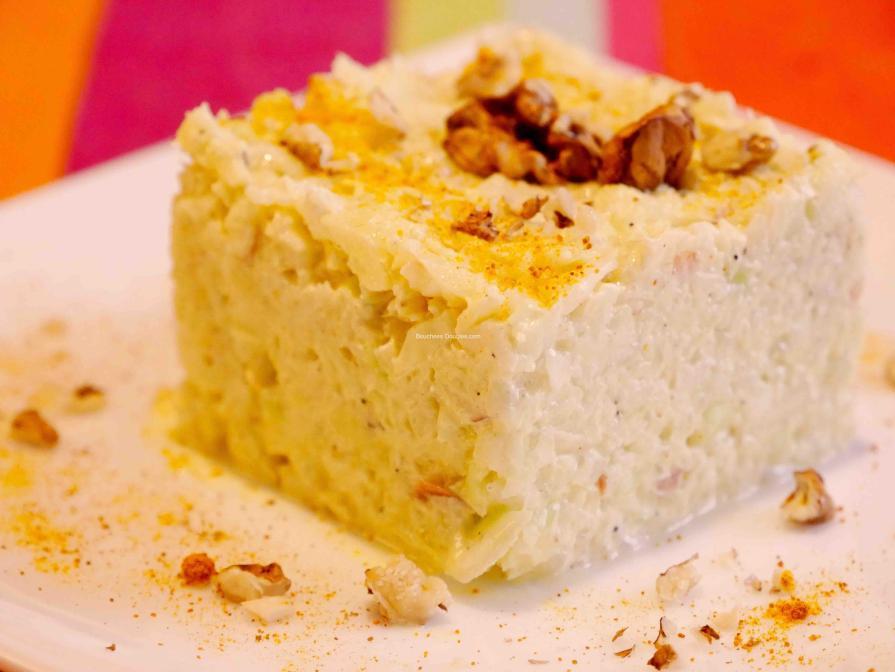 Coleslaw dans assiette plan serré