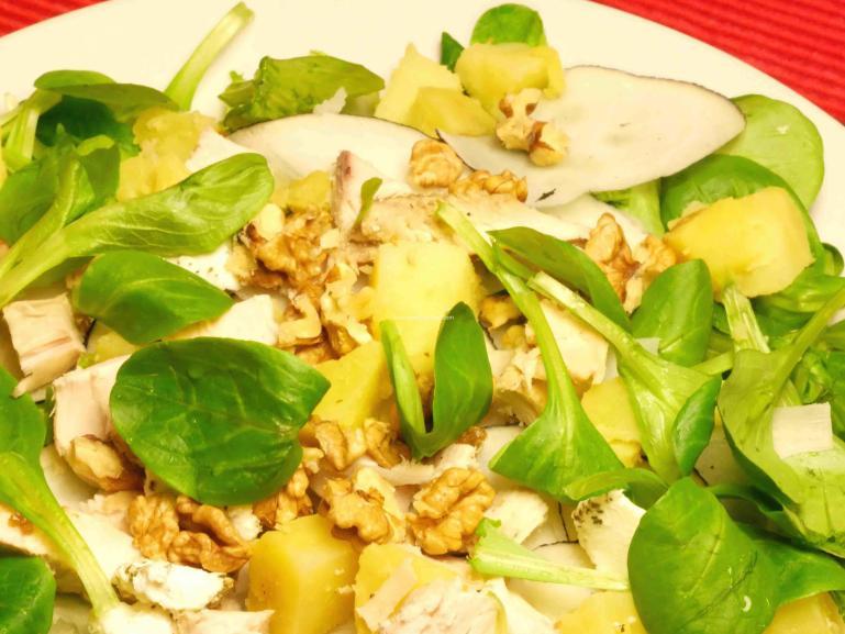 Salade composée d'hiver
