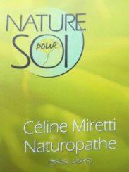 Céline Miretti, nature pour soi logo