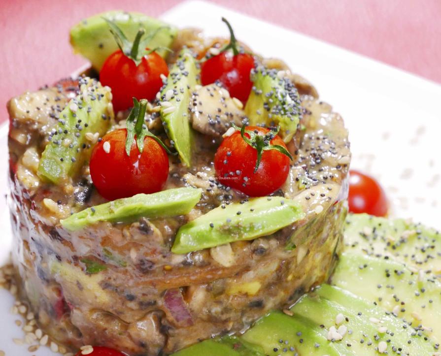 Tartare d'aliments alcalins