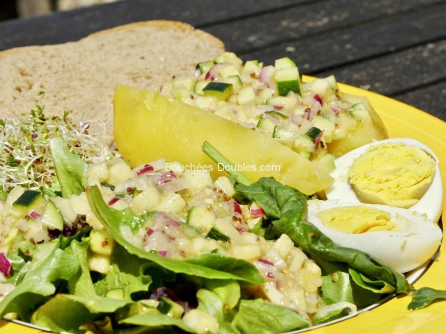 Cliquez ici pour voir ce repas alcalin complet composé de plusieurs recettes alcalines simples et savoureuses