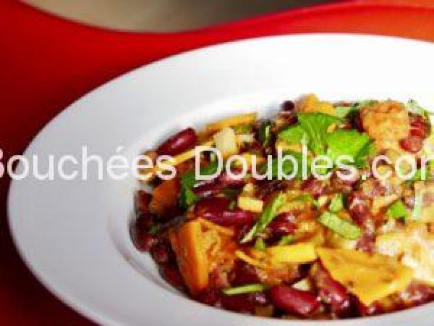 Cliquez ici pour découvrir cette recette de cuisine alcaline : unragout de 7 légumes et haricots rouges