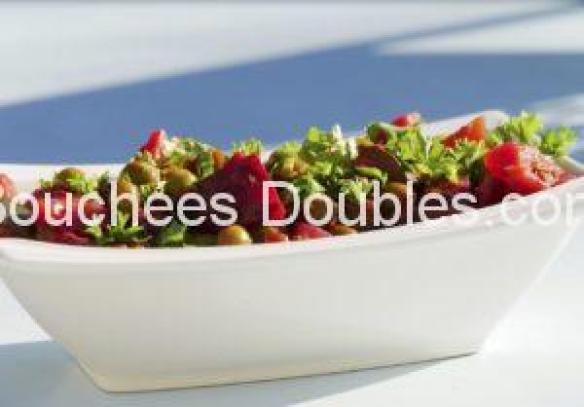 Cliquez ici pour découvrir cette recette de cuisine alcaline : une printanière de légumes rouges