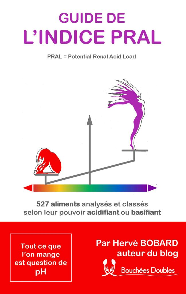 Découvrez mon guide de l'indice PRAL (Potential Renal Acid Load) : 527 aliments classés selon leur pouvoir acidifiant ou basifiant.