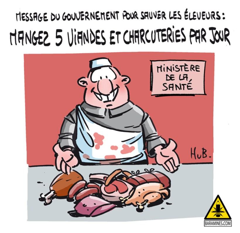 Moins de viande, plus de santé ?