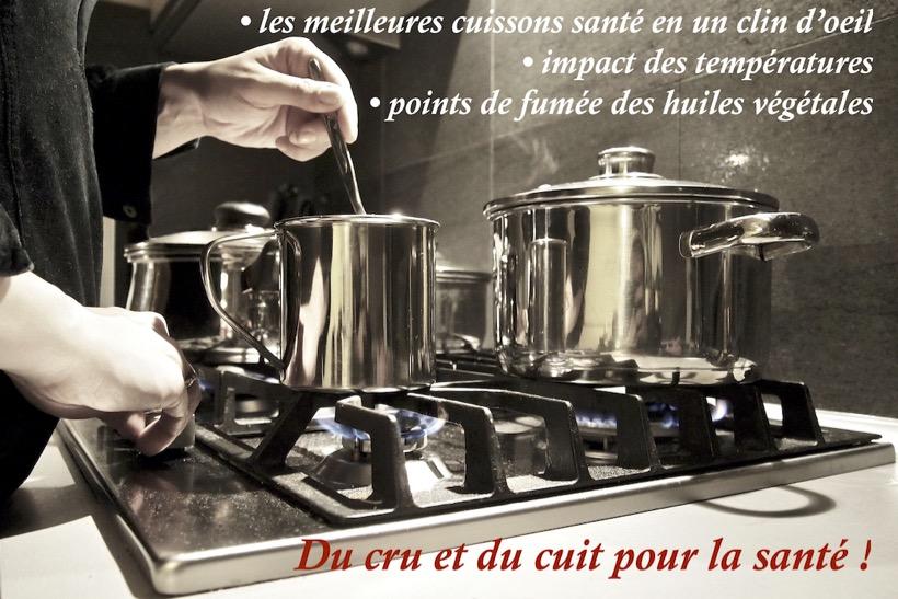 Alimentation-du cuit et du cru pour cultiver sa santé