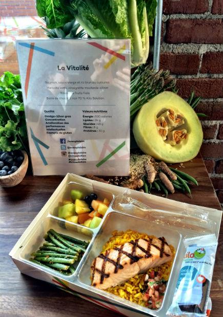 Boîte Lunch Isabelle Huot+saumon