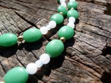 """Un collier type """"princesse"""" en pierre de Jade"""