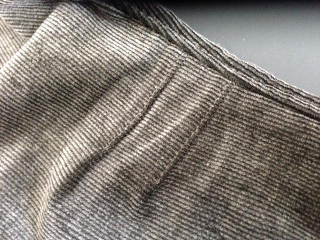 Pantalon velours Veijari