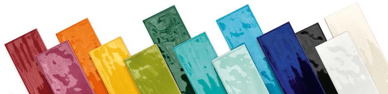Geglazuurde tegel - glazuur op ceramiek