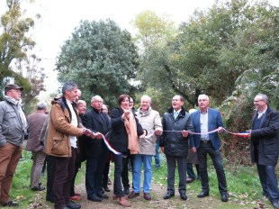 Inauguration chemin Boudré