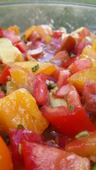 Salade de tomates (2)