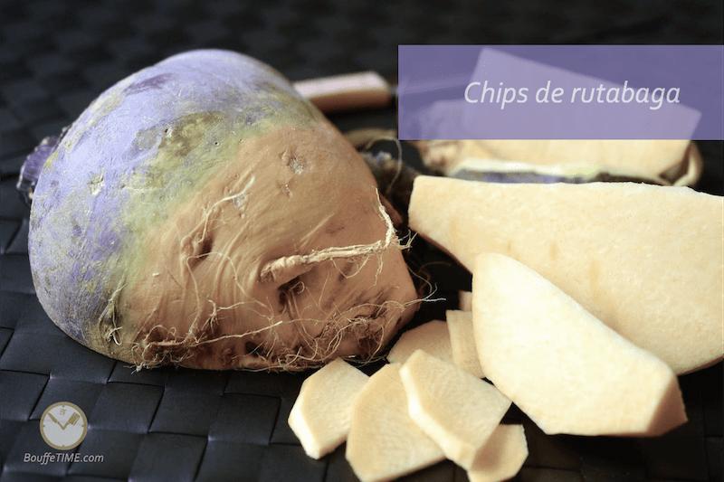 Recette de chips de rutabaga | BouffeTIME!