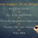 Menu nippon de la Brigade   BouffeTIME!