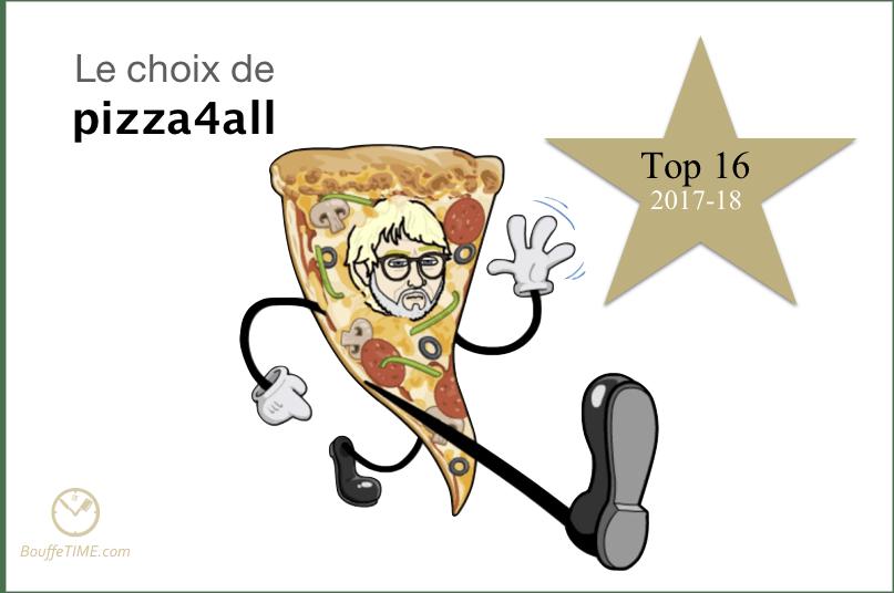 Le choix de pizza4all   Top 16 2017-18   BouffeTIME!