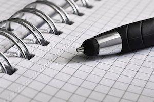 S'organiser au travail avec un carnet de notes