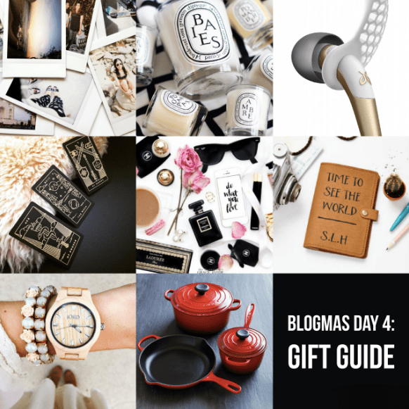 BLOGMAS DAY FOUR: Gift Guide 2017