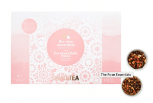 "Click Image to purchase David's Tea ""The rose Essentials"" set as a mother's day gift"