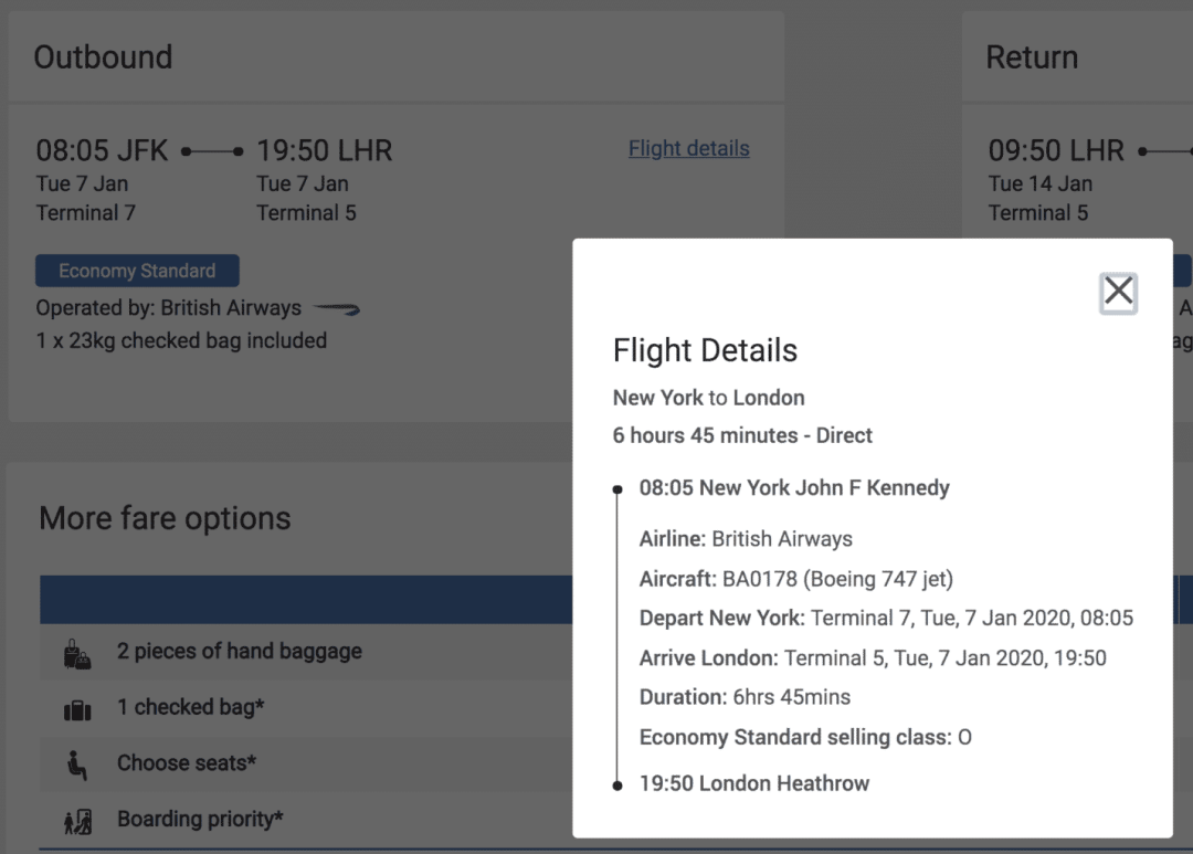 How to calculate award miles