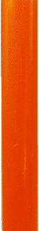 Bougie couleur orange la popularité par bougie vip