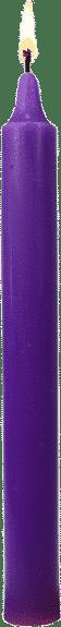 Bougie couleur violette la spirituelle par bougie vip