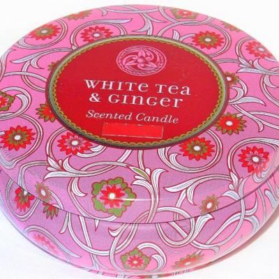 Bougie-Trois-Mèches-Candles-Parfum-ginger tea