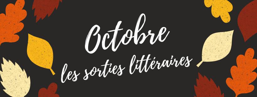 Sorties littéraires octobre