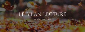 Bilan lecture : octobre 2019