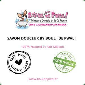 SAVON SOLIDE DOUCEUR BY BOUL' DE PWAL !