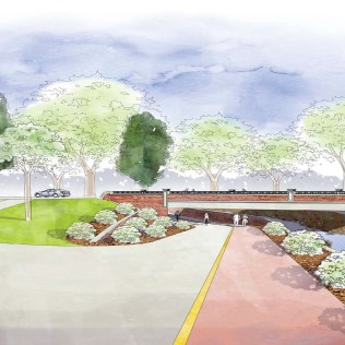 Arapahoe Underpass project rendering