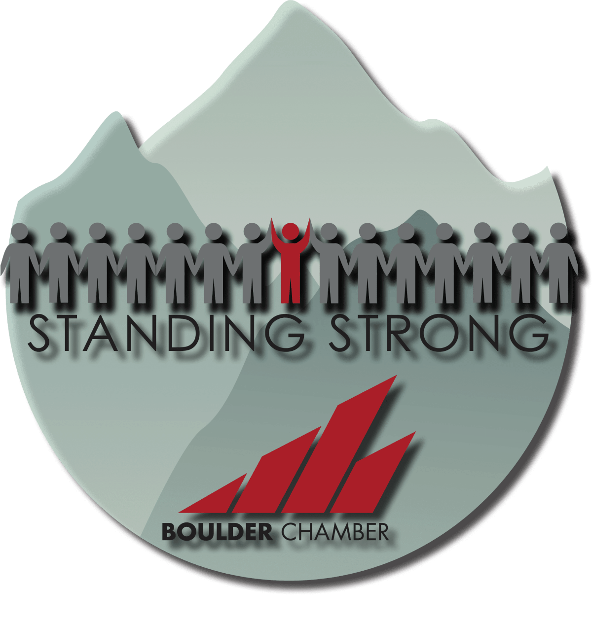 Standing Strong Logo for Medal