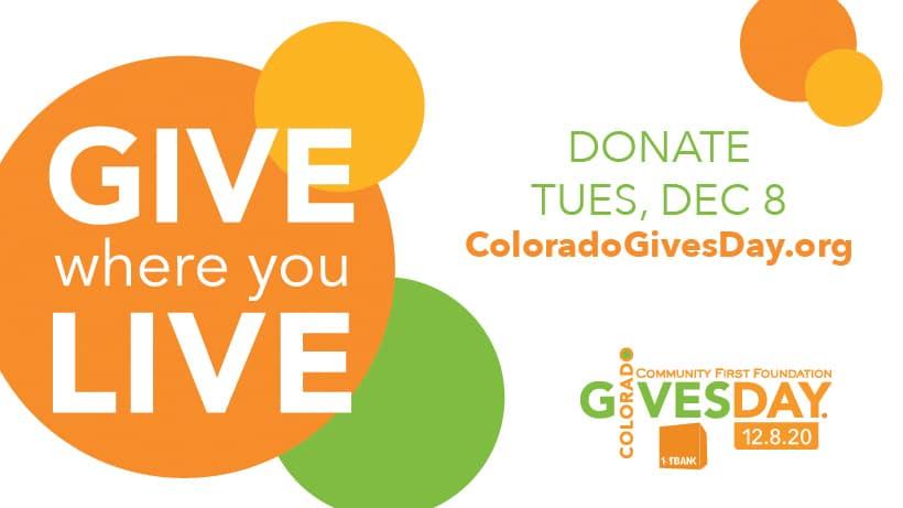 Colorado Gives Day December 8