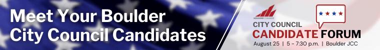 2021 Boulder City Council Candidate Forum