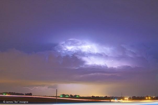 25 to 34 Intra-Cloud Lightning Thunderstorm