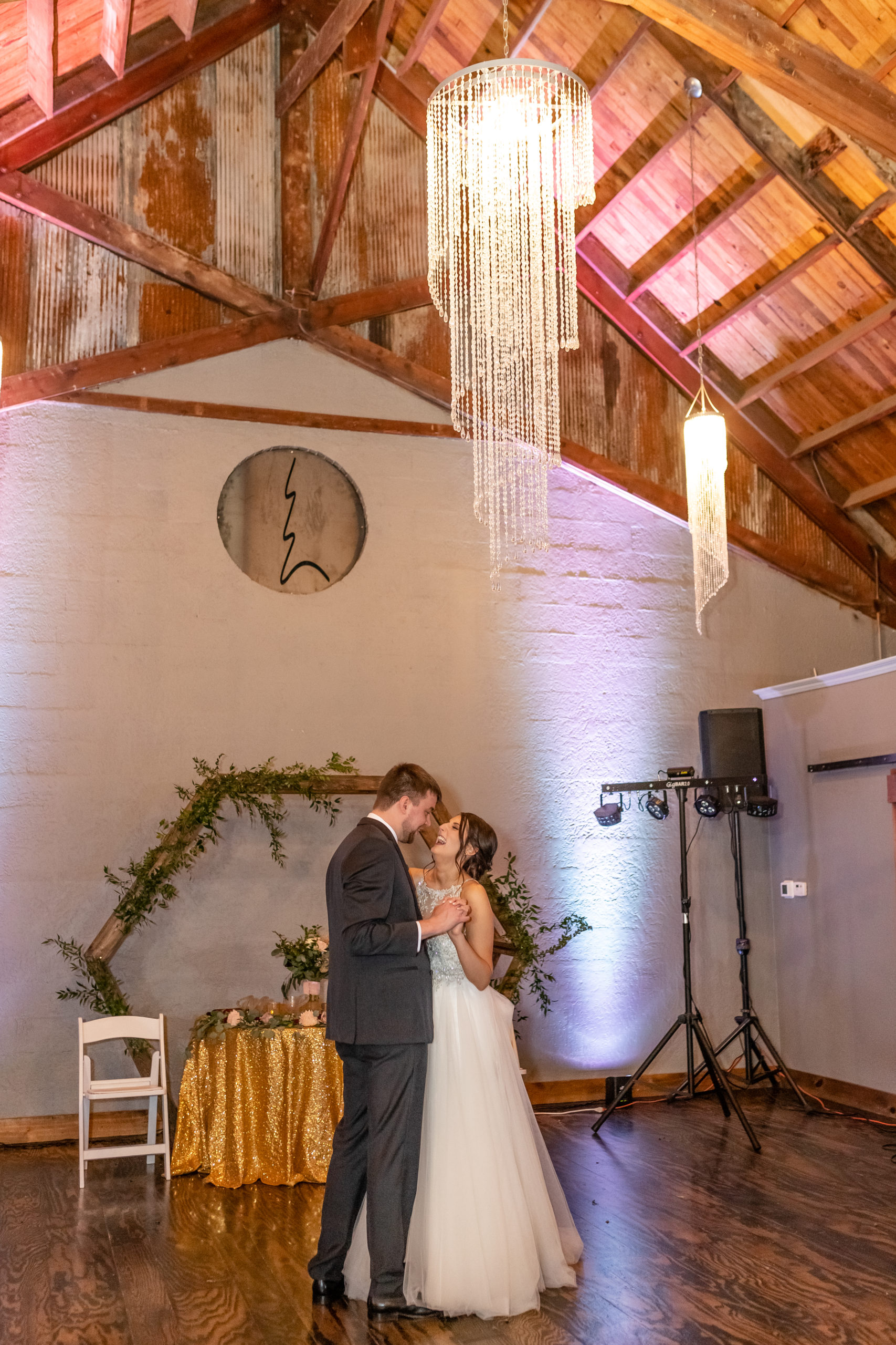first dance, bride and groom,