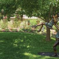 Feature Garden: Fairies, dragons, and angels inhabit this Mapleton Hill garden
