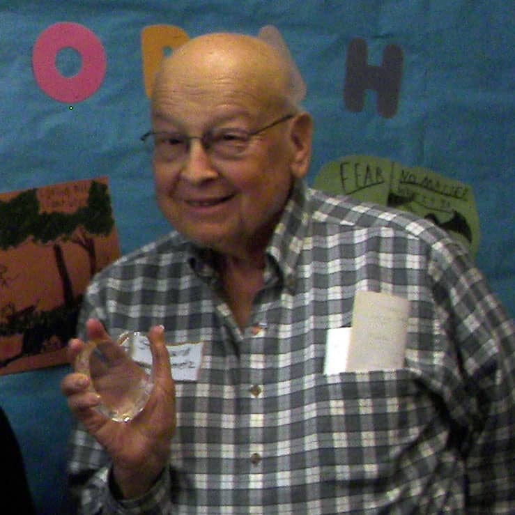 Howard Steinmetz Honored By Jewish Genealogy Society