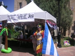 Menorah promotes its series focusing on the Jews of Cuba at the 2012 Boulder Jewish Festival
