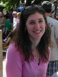 Mayim Bialik at the 2011 Boulder Jewish Festival