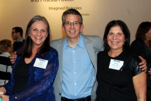 """""""Argo"""" Producer David Klawans (c) with Event Co-Chairs Deb Grojean (l) and Jackie Sprinces Wong (r)"""