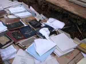 Sacred text burial # 1courtesy Har HaShem