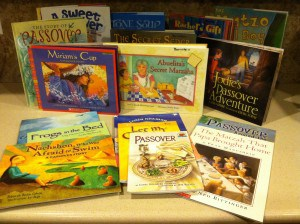 Selection of Passover Children's Books