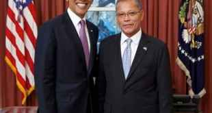 Asterio Takesy and Barack Obama