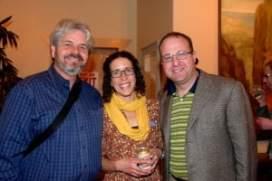 Butch Weaver, Becca Weaver and Rep. Jared Polis