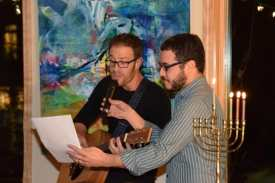 Michael Rosenzweig and BJCC ED Jonathan Lev